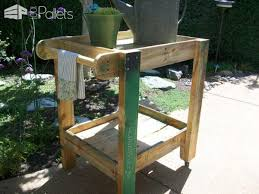 pallet patio furniture tea cart u2022 1001 pallets