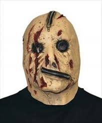 amazon com creepyparty deluxe novelty latex halloween mask full