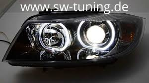 bmw e90 headlights angel eye scheinwerfer für bmw e90 e91 05 08 high led