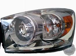 dodge ram headlight 2006 2008 dodge ram complete hid projector headlight retrofit