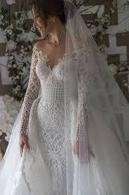 custom made wedding dress steven khalil custom made pre owned wedding dress on sale 41