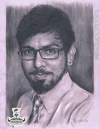 portfolio of pencil sketch by artist mahesh chavan