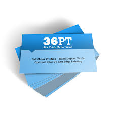 Business Cards Painting 2500 36pt Full Color Silk Business Cards Premium Business Card