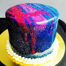 the lab sg mirror glaze galaxy cake orders open now facebook