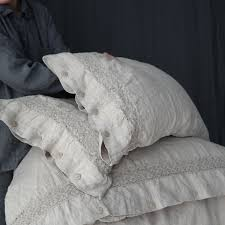 linen duvet cover set of duvet cover and pillowcases with