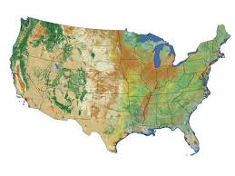 Usa Maps States by Topographical Map Of The United States Karmaboxers Topographic