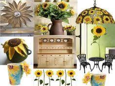 Sunflower Kitchen Curtains Sunflower Kitchen Decor Country Sunflower Metal Watering Can