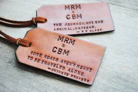 personalized wedding items beautiful personalized luggage tags wedding favors gallery