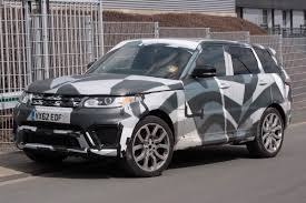 modified 2015 range rover spy shots is land rover working on a hotter range rover sport