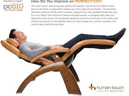 Omni Leather Furniture Amazon Com Human Touch Pc 610 Omni Motion Perfect Chair Power