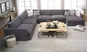 Gray Fabric Sectional Sofa Furniture Used Sectional Sofas Sofa Sectional Large Sectional