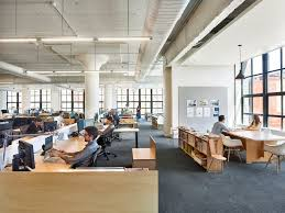 How To Do Minimalist Interior Design Inside Bohlin Cywinski Jackson U0027s New Minimalist Office At East