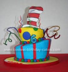 dr seuss cake ideas coolest dr seuss birthday cake