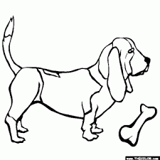 realistic beagle coloring pages dogs 1 litle pups