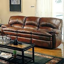 Overstuffed Sofa And Loveseat by Ethan Chestnut Brown Leather Reclining Sofa Loveseat And Recliner