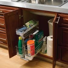 kitchen sink cabinet caddy undersink caddy accessories bertch cabinet manufacturing