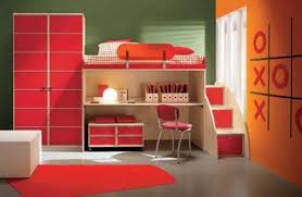 bedroom extraordinary ideas using red furry rug and red wooden