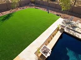 fake grass central arizona landscape rock swimming pool designs