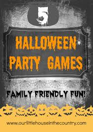 5 halloween party games for all the family our little house in