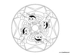 free printable mandalas kids color tags free printable
