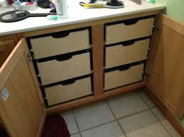 Kitchen Cabinet Drawer Design by Instead Of A Lazy Susan Or Blind Pullout How About These Angle