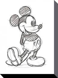 coloring engaging mickey mouse scetch pencil sketch
