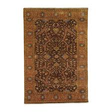 heriz rug brown rust ethan allen us great anchor to a room