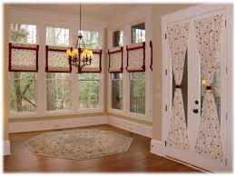 inspirations roman shades for french doors with roman blinds on