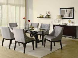 dining room chairs with arms back to simple upholstered dining