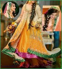 dress designs 2016 with different hues for brides
