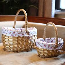 cheap baskets for gifts handmade storage wicker baskets for picnic food drink toys