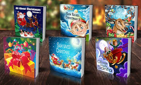 personalized christmas custom christmas children s book dinkleboo groupon