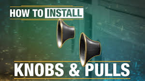 How To Install Kitchen Cabinet Handles How To Install Knobs And Pulls Youtube