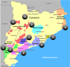 Girona Spain Map by Catalonian Wine In 1 500 Words Confessions Of A Wine Geek
