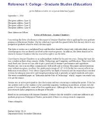 College Letter Of Recommendation From Best Solutions Of Letter Of Recommendation Sle To College With