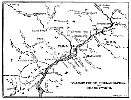 13 Colony Map Leaving Valley Forge With Independence In Sight Sheilah Vance