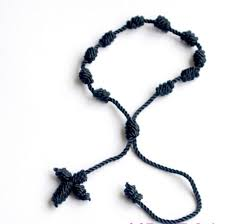 knotted rosary knotted rosary cross bracelet