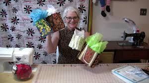diy fabric gift bags youtube
