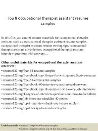 Certified Hand Therapist Resume Sample by Occupational Therapist Cover Letter