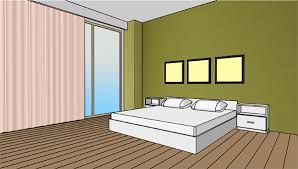 what paint colour to choose for the wall behind the bed