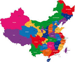 Guangzhou China Map by China Map With Cities Blank Outline Map Of China