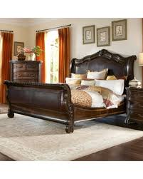 Tufted Sleigh Bed King New Shopping Special A R T Furniture Valencia Leather