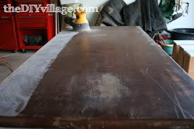 how to fix water damage on wood table how to repair furniture using bondo thediyvillage
