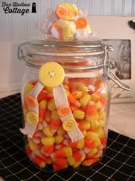 halloween candy mason jar gift fox hollow cottage