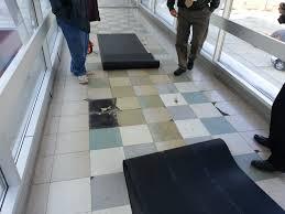 Vinyl Tiles On Concrete Floor Polishmaxx Polished Concrete Contractor In Iowa Illinois Vct