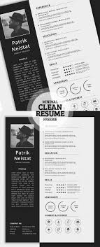 modern resume templates free download psd effects 17 free clean modern cv resume templates psd freebies download