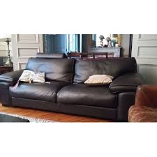 la roche bobois canapé canapé 3 places en cuir roche bobois meuble et déco