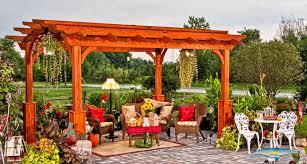 pergolas for sale wood pergolas horizon structures