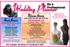Wedding Coordinator Gen Lee Events Academy
