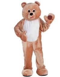 Brown Bear Halloween Costume Honey Bear Mascot Halloween Costume Size Men U0027s Size